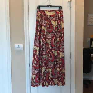 Dresses & Skirts - Multicolored Maxi skirt with bralette.